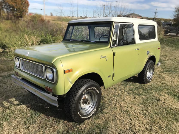 Solid: 1970 International Harvester Scout 800A