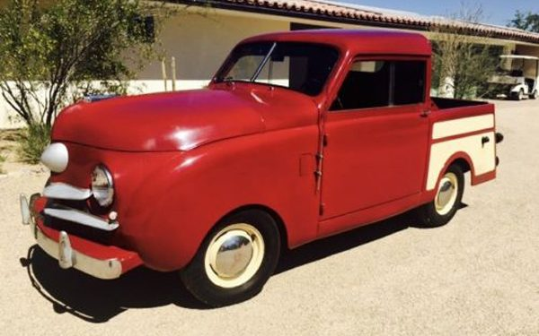 Sm'all Aboard: 1948 Crosley Pickup