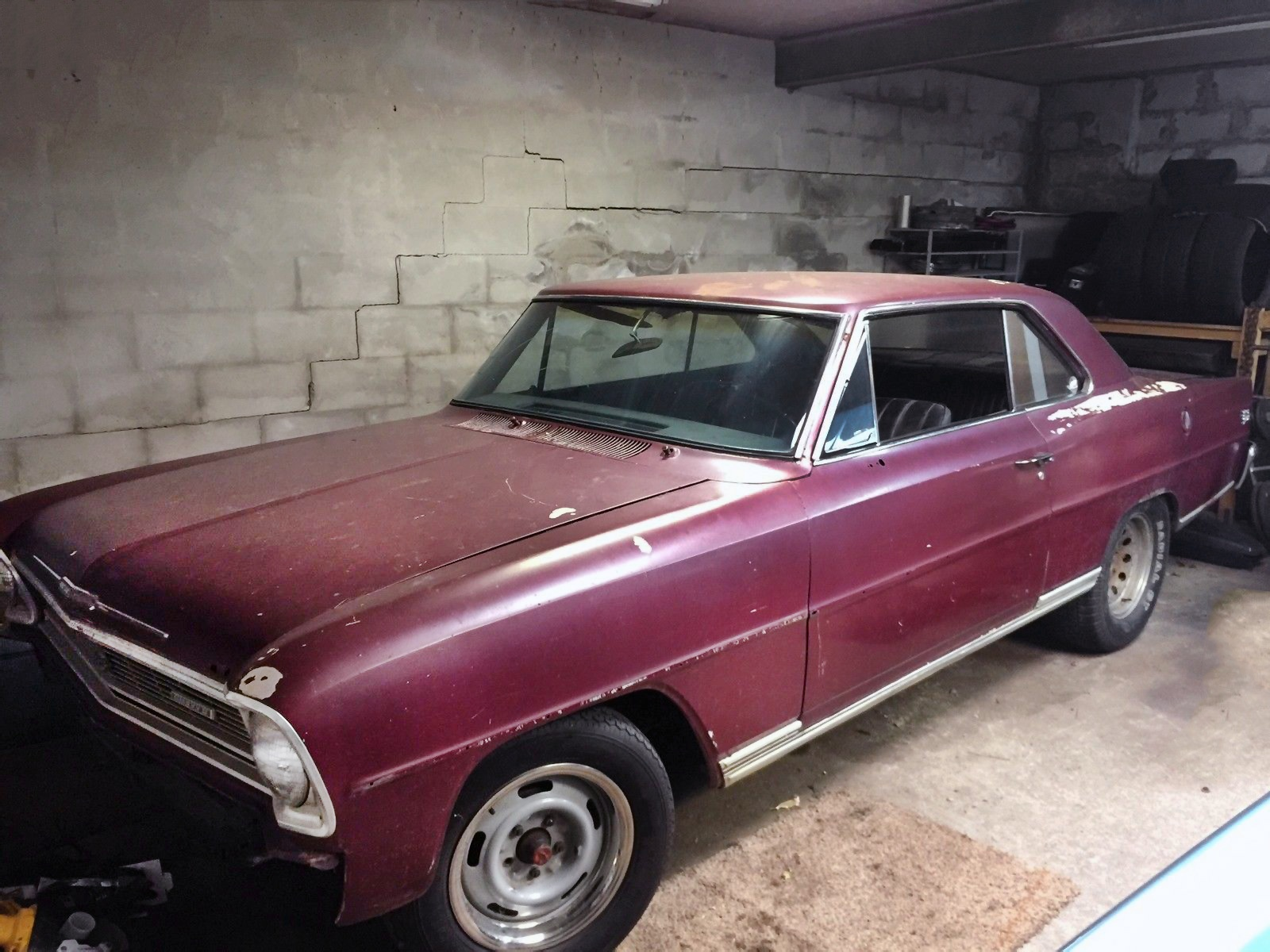 1966 Chevy Nova Project Car For Sale - 2019-2020 New