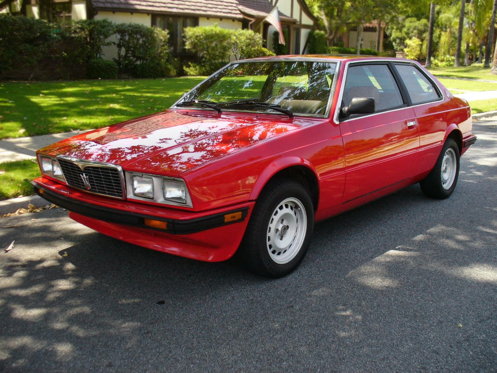 Barn Find Cars >> $3,895 Maserati: 1984 Maserati Biturbo E