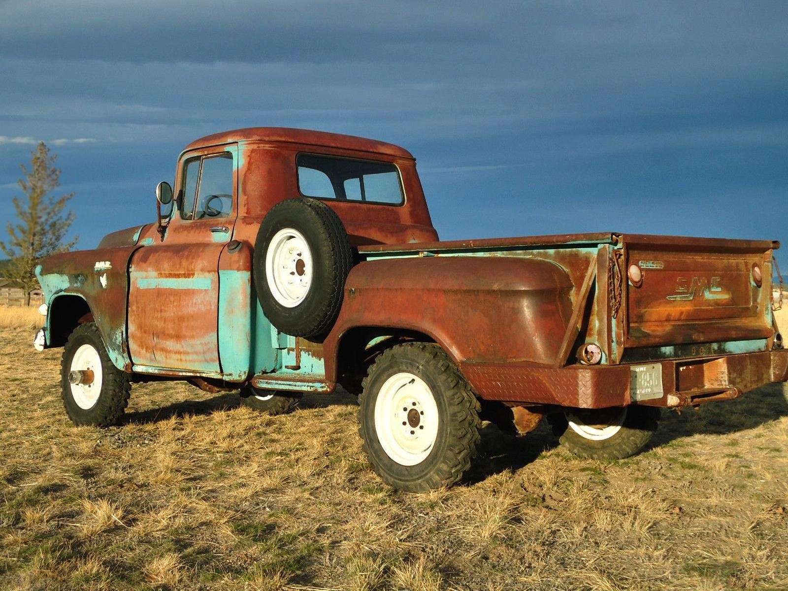 Tough Mudder: 1956 GMC 100 Series NAPCO 4x4