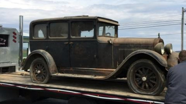 Stored 58 Years: 1928 Dodge Standard 6 Deluxe