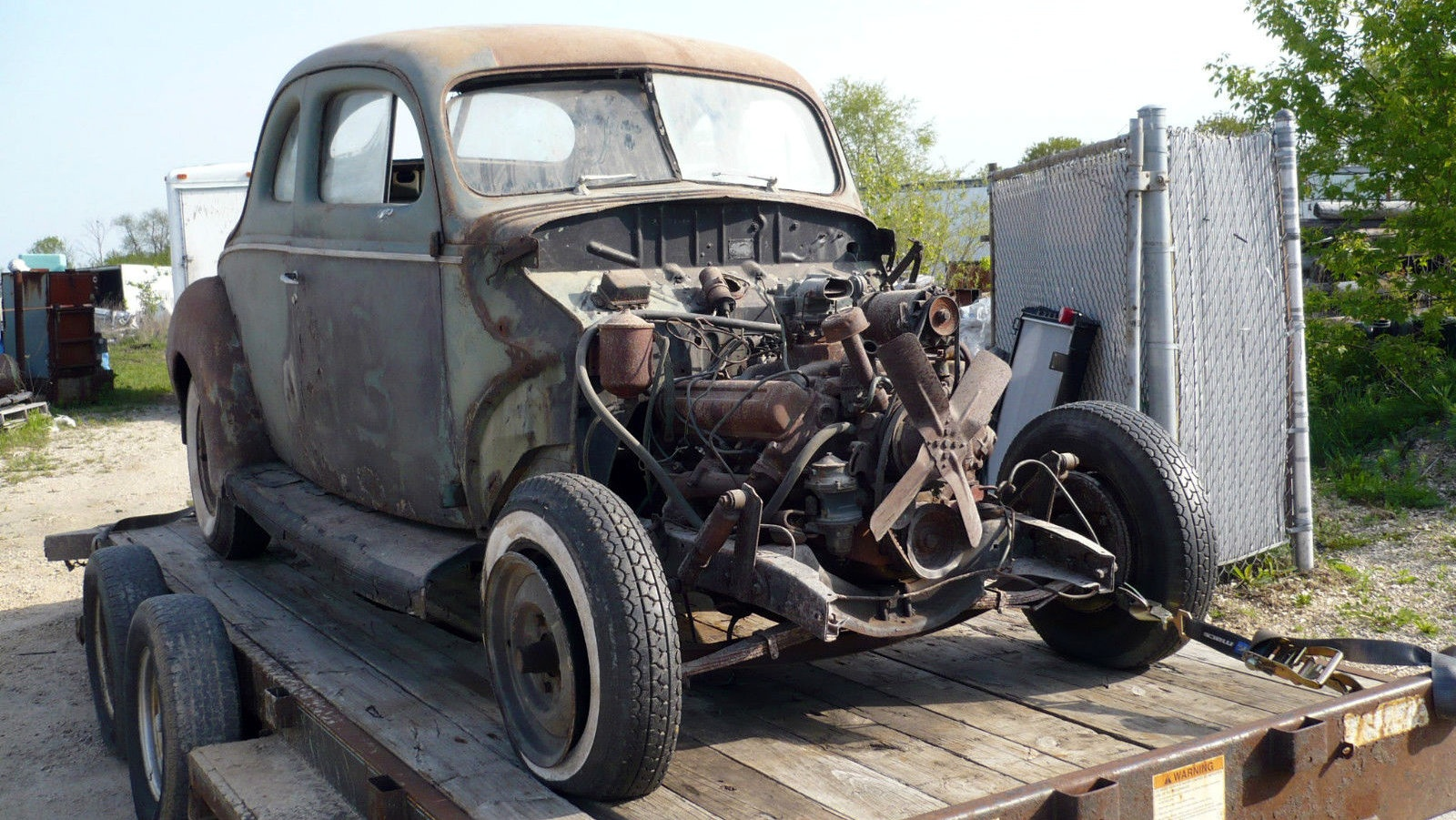 Fords For Sale >> 1940 Ford Coupe With Olds 303!