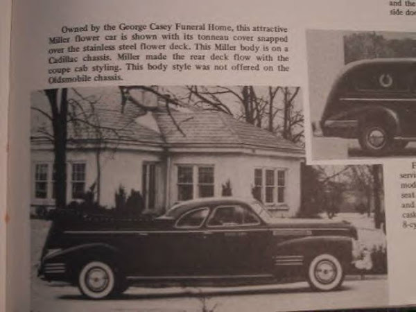 Presidents Or Plants 1940 Cadillac Parade Car