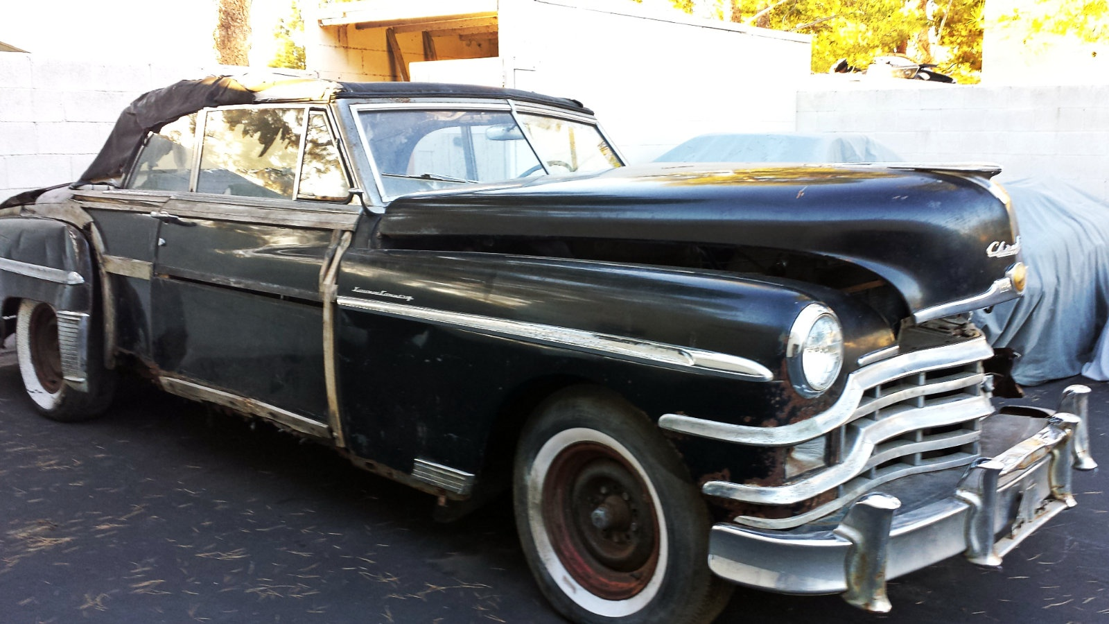 Bf Exclusive 1949 Chrysler T Amp C Convertible