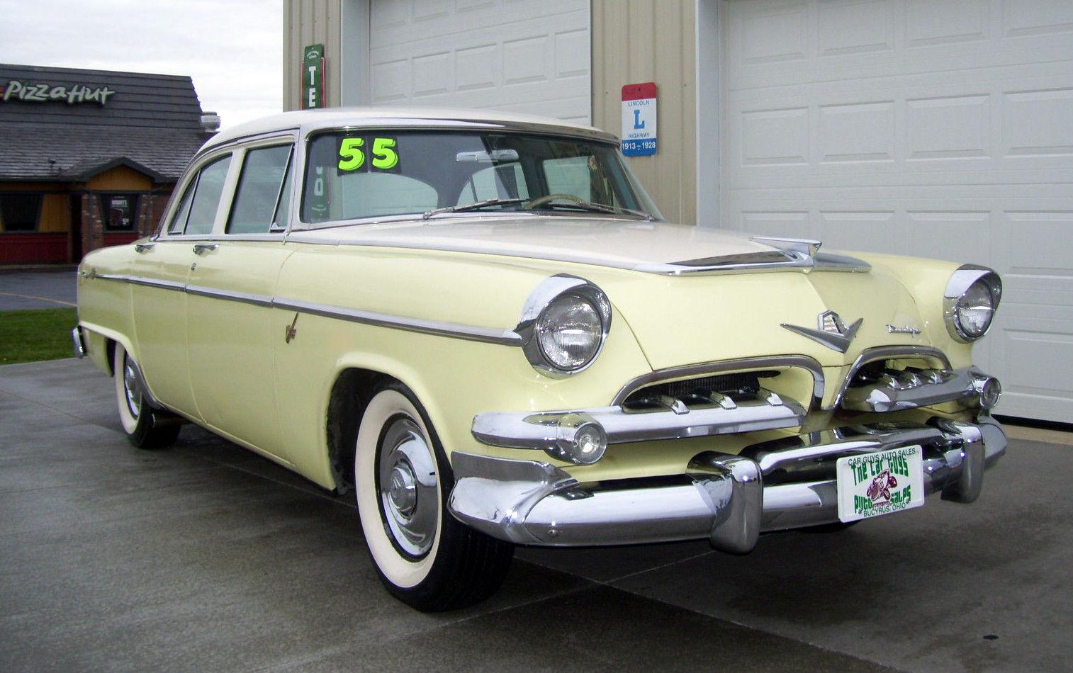 Fast Sedan: 1955 Dodge Custom Royal