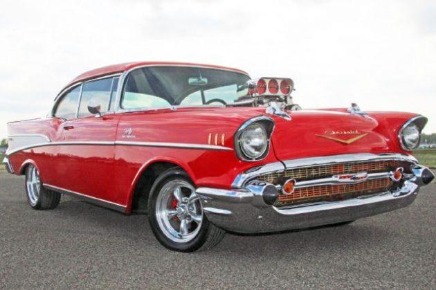Resurrected Racer 1957 Chevrolet Bel Air Gasser