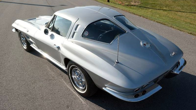 Porsches For Sale >> Meticulously Maintained: 1963 Corvette Split Window