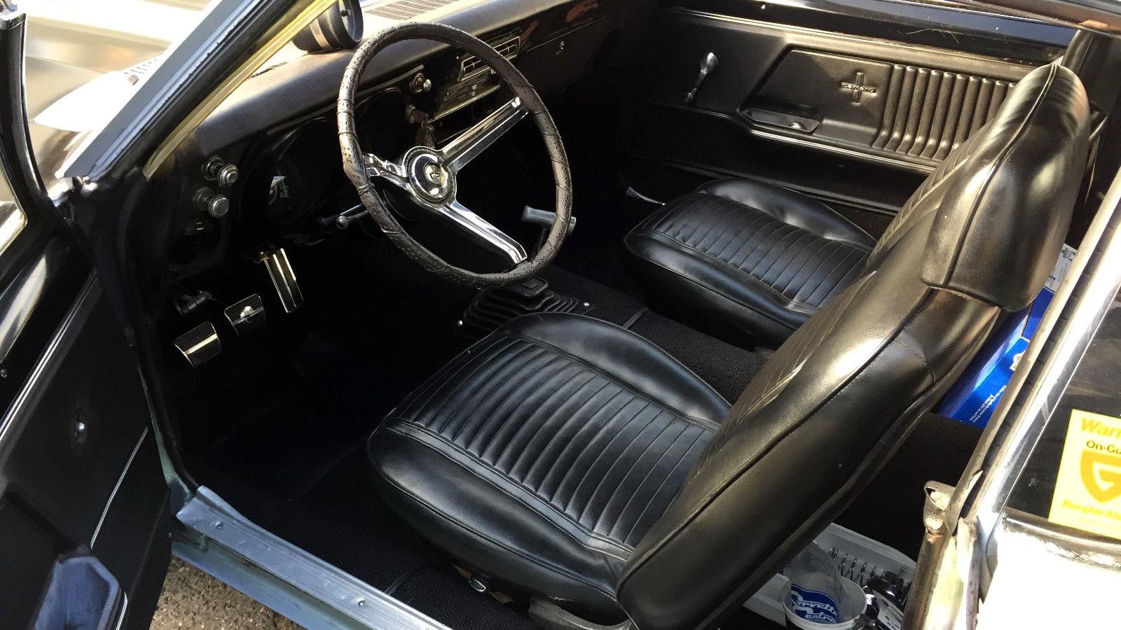 1967 camaro rs interior