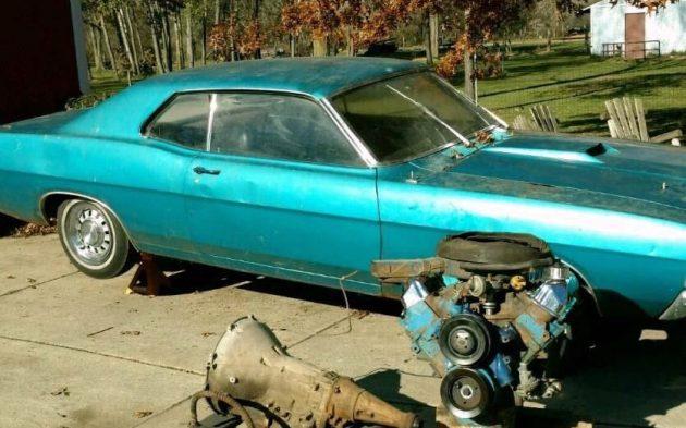 Drag Pack Equipped: 1969 Torino Cobra SCJ
