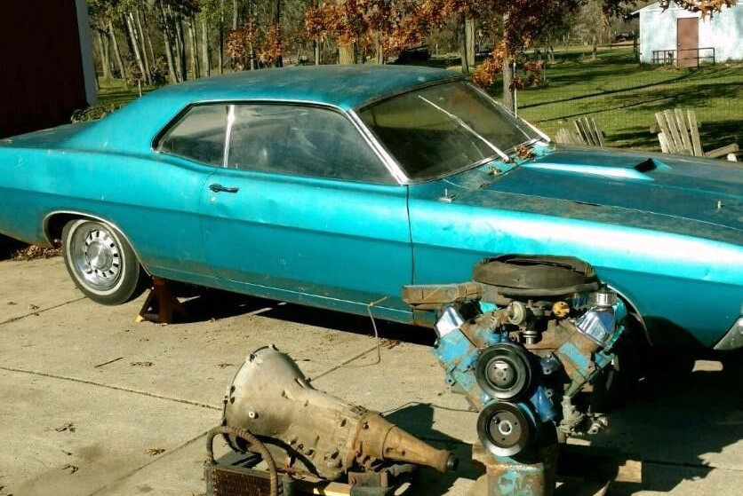 Cobra Kit Car >> Drag Pack Equipped: 1969 Torino Cobra SCJ