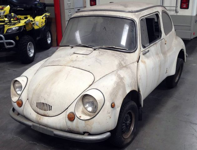 Happy Little Project: 1971 Subaru 360