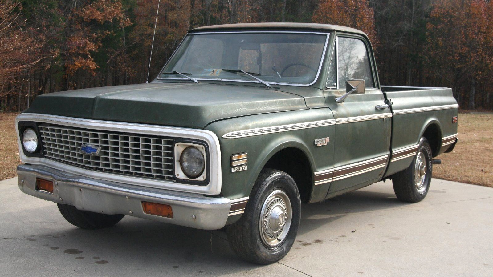 Chevy C 10 Pickup >> Almost Super: 1972 Chevrolet C10