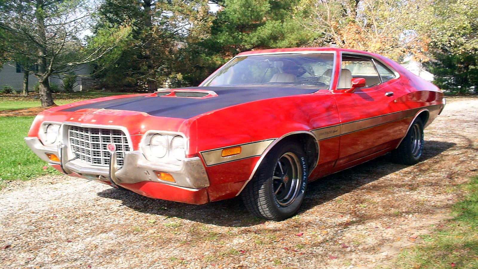 Shed Cave In: 1972 Ford Torino Sport
