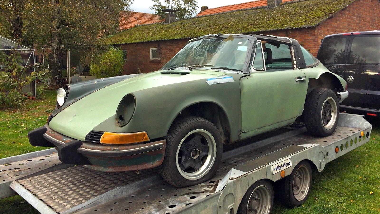 Hacked Up 1974 Porsche 911