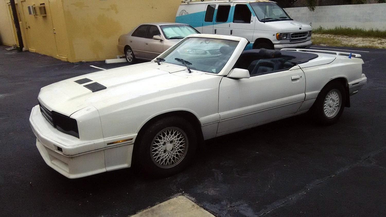 Asc Mclaren Special 1986 Mercury Capri