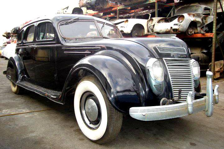 Art Deco Survivor 1937 Chrysler Airflow Barn Finds