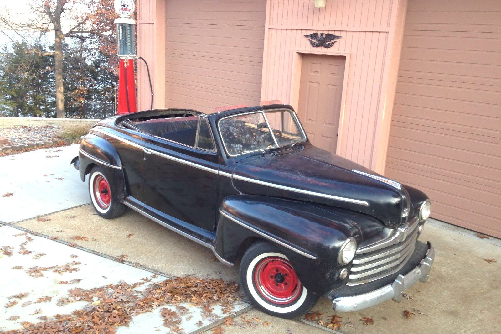 biff approved 1948 ford super deluxe convertible