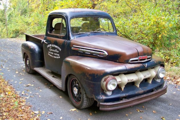 Resto Moded 1951 Ford F1