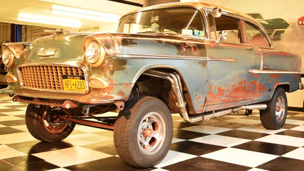 rusty racer 1955 chevrolet bel air gasser. Black Bedroom Furniture Sets. Home Design Ideas