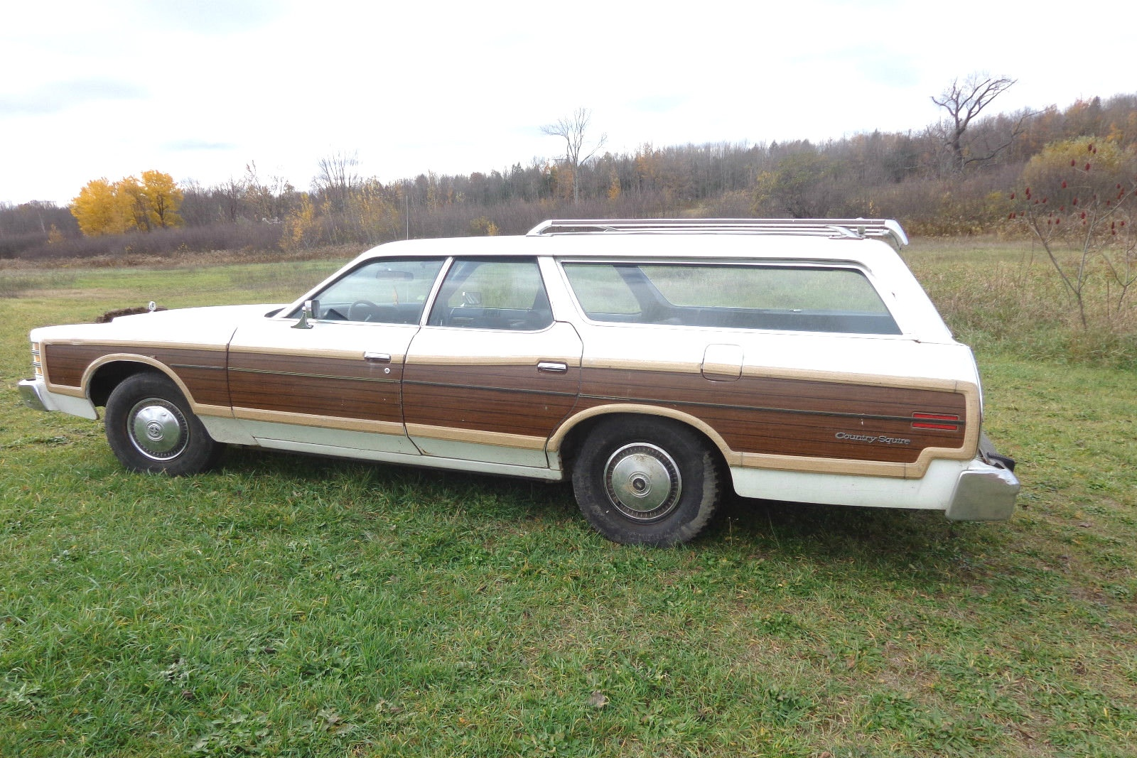Last Land Barge 1978 Ford Ltd Country Squire Wagon