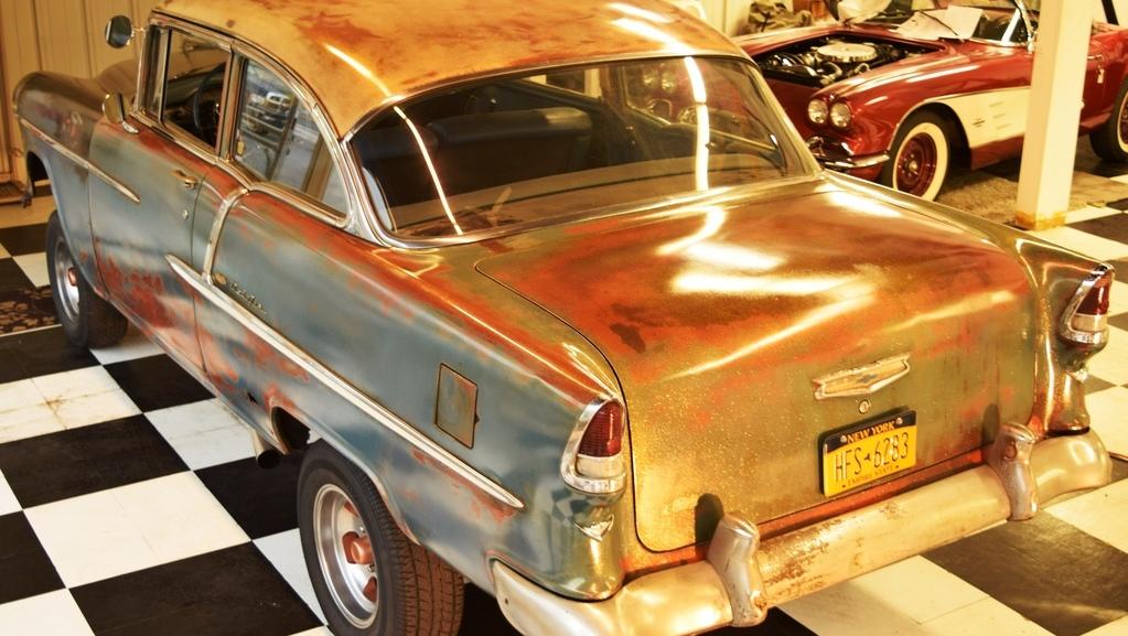 Rusty Racer 1955 Chevrolet Bel Air Gasser