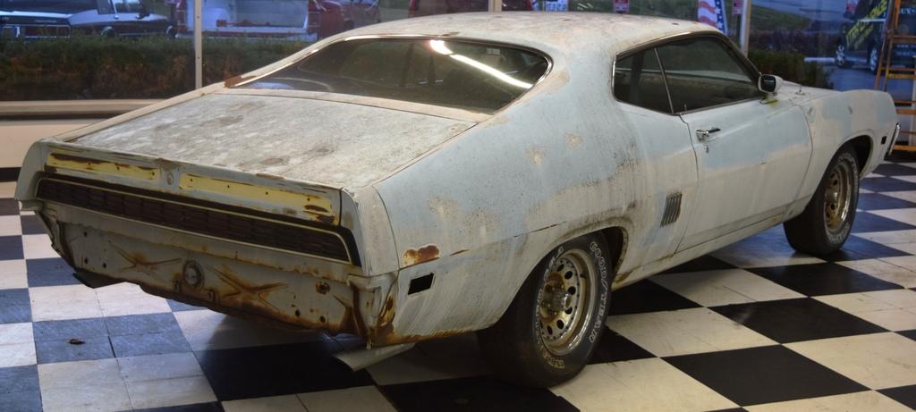 Menacing Machine: 1970 Ford Torino GT