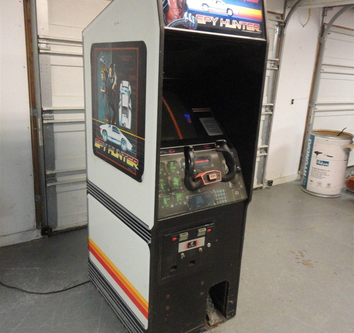 Auctions In Ohio >> The Perfect Gift: Spy Hunter Arcade Game!