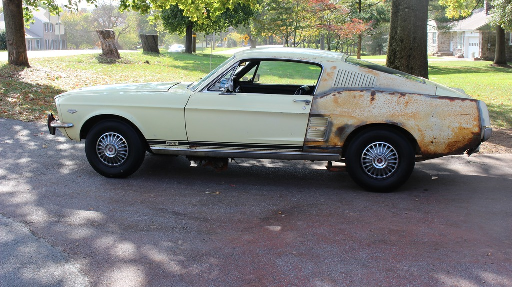 1 Of 1: 1967 K-Code Mustang Lean To Find