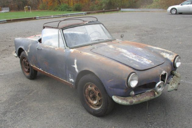 Is It Too Rusty? 1960 Alfa Romeo Spider