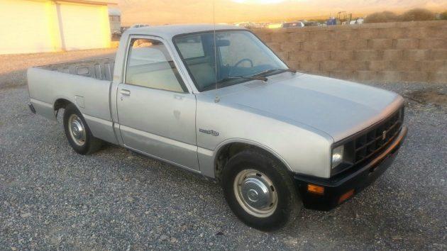 0-60 In 26 Seconds! 1986 Isuzu Diesel P'up