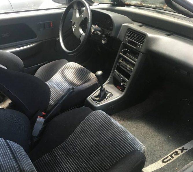 14 402 Miles 1989 Honda Crx Si