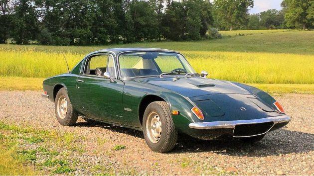 Green Beauty: 1969 Lotus Elan +2