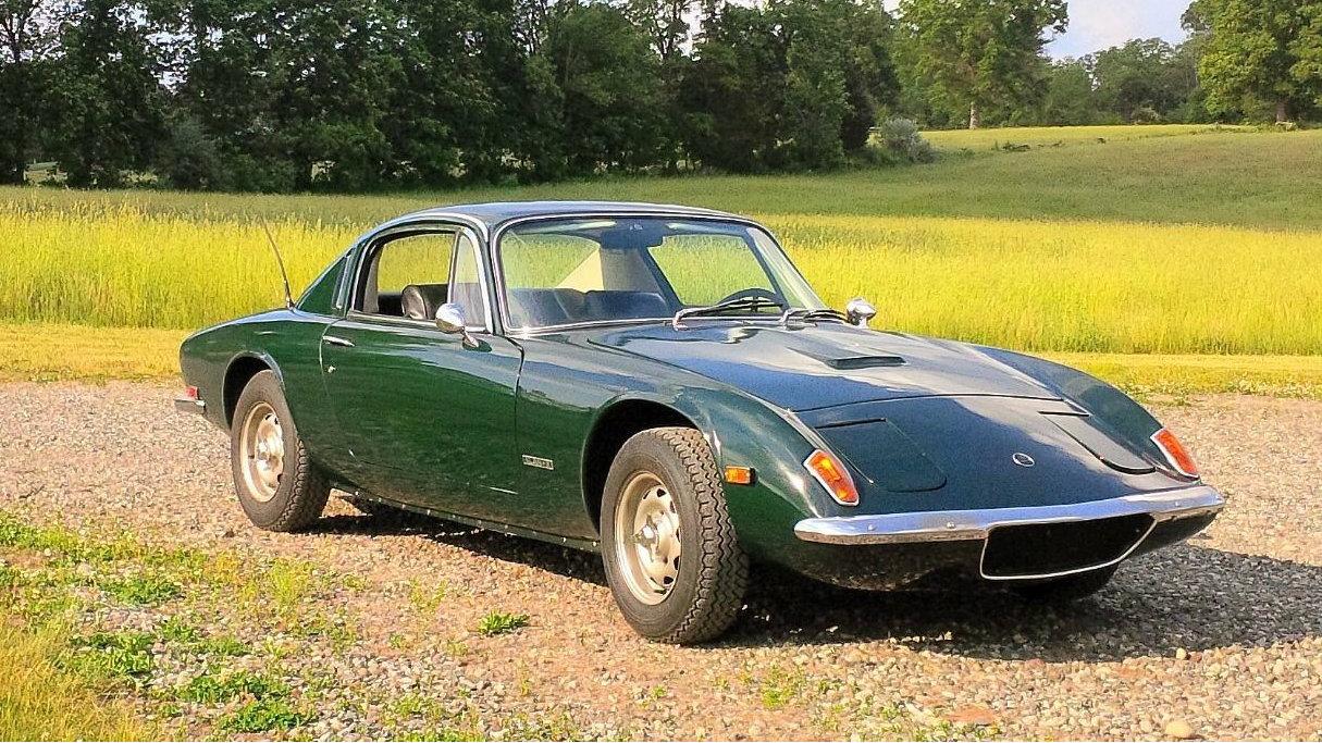 Green Beauty 1969 Lotus Elan 2