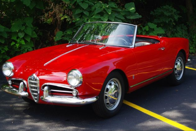 What It Could Look Like: 1957 Alfa Romeo Spider
