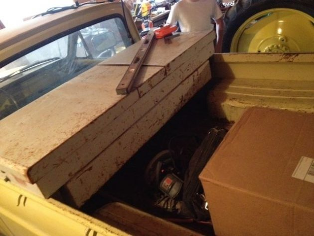 Bought the Farm: Ford Courier + Parts Truck
