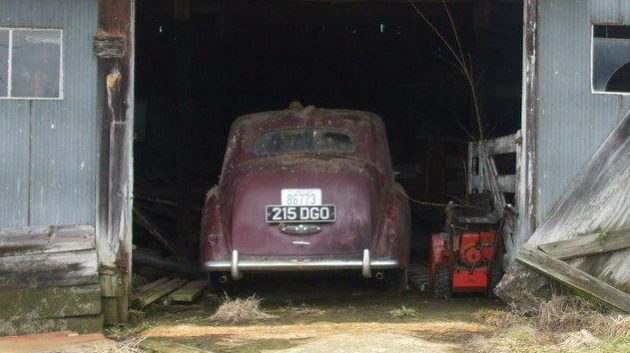 Rescued From The Barn: 1953 Bentley R Type