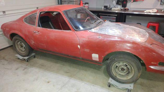 Mini-Vette Project: 1970 Opel GT