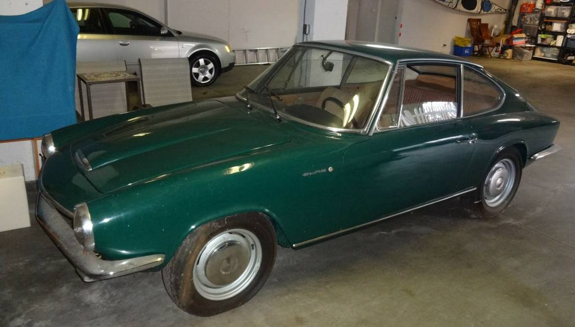 Rebuilt Cars For Sale >> Well Stored: 1967 Glas 1700 GT