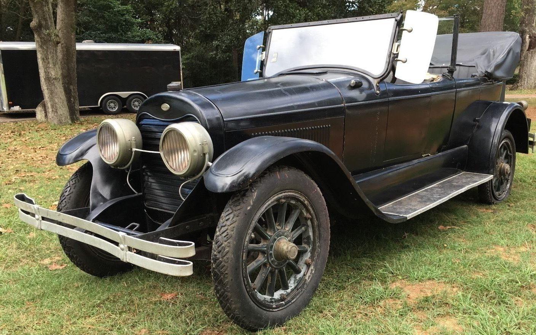 Texas Car Barn >> Dual-Cowl Survivor: 1923 Lincoln Phaeton