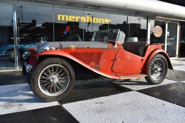 The Red Car: 1949 MG TC Project