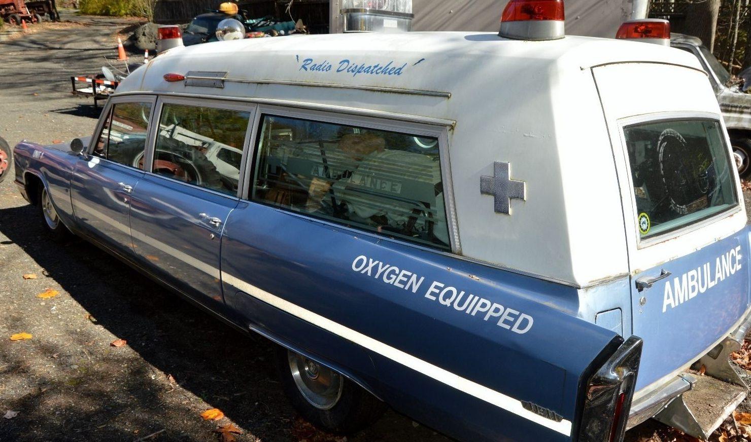 A Bit Too Real: 1966 Cadillac Ambulance