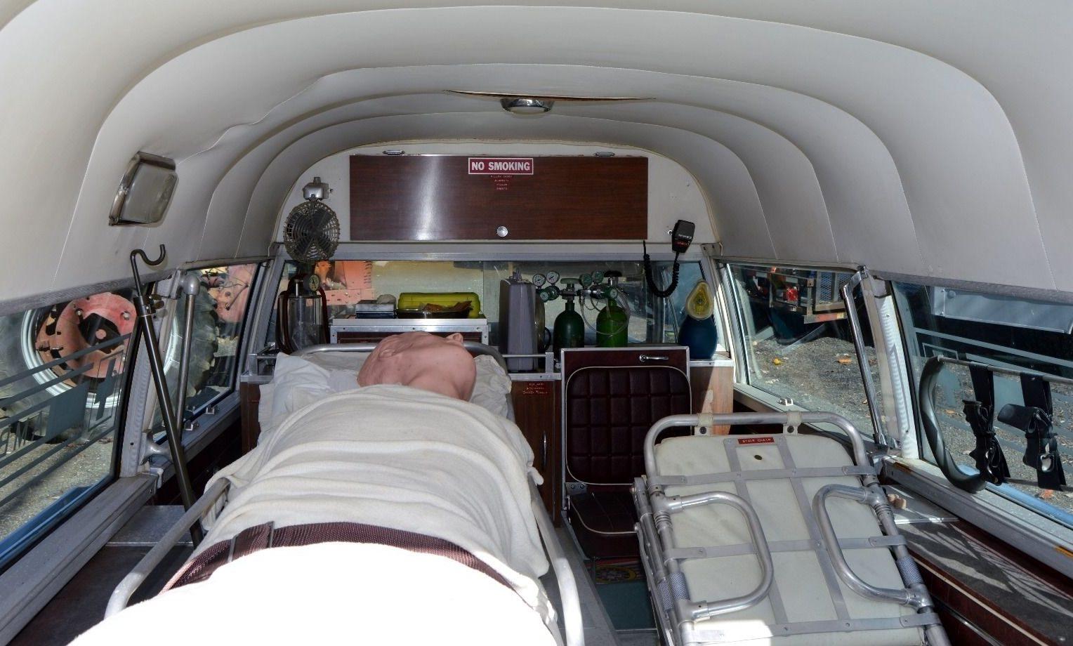 Ambulance For Sale >> A Bit Too Real: 1966 Cadillac Ambulance