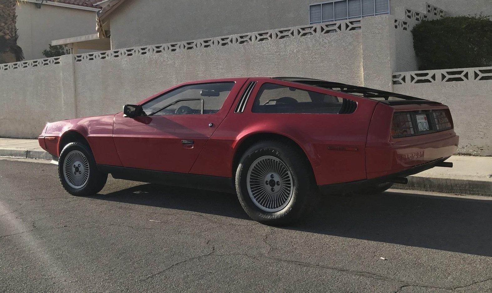 Rare in Red: 1981 Delorean DMC-12