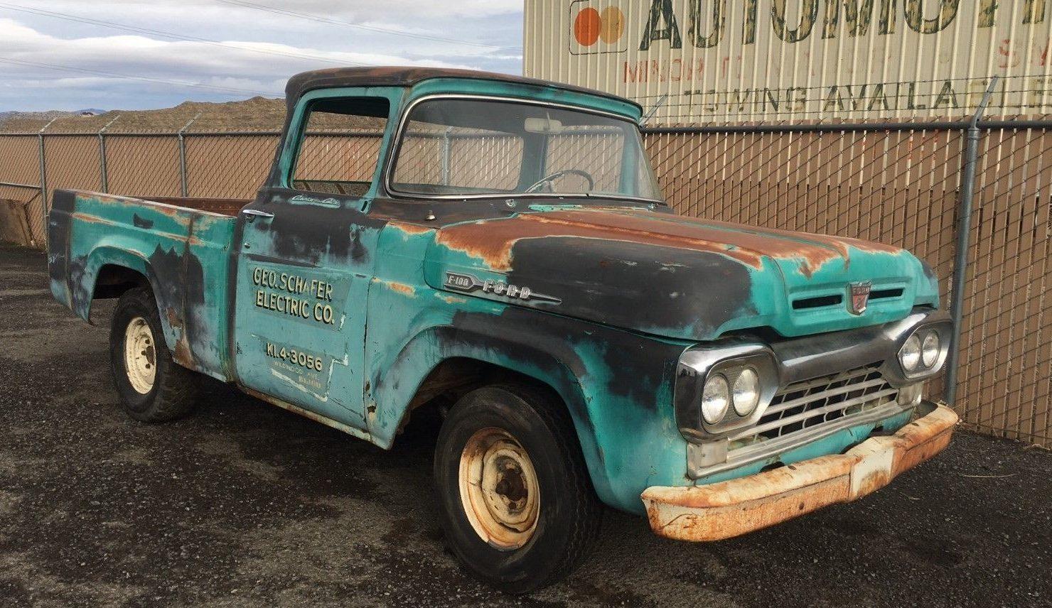 big window 1960 ford f 100 parts truck. Black Bedroom Furniture Sets. Home Design Ideas