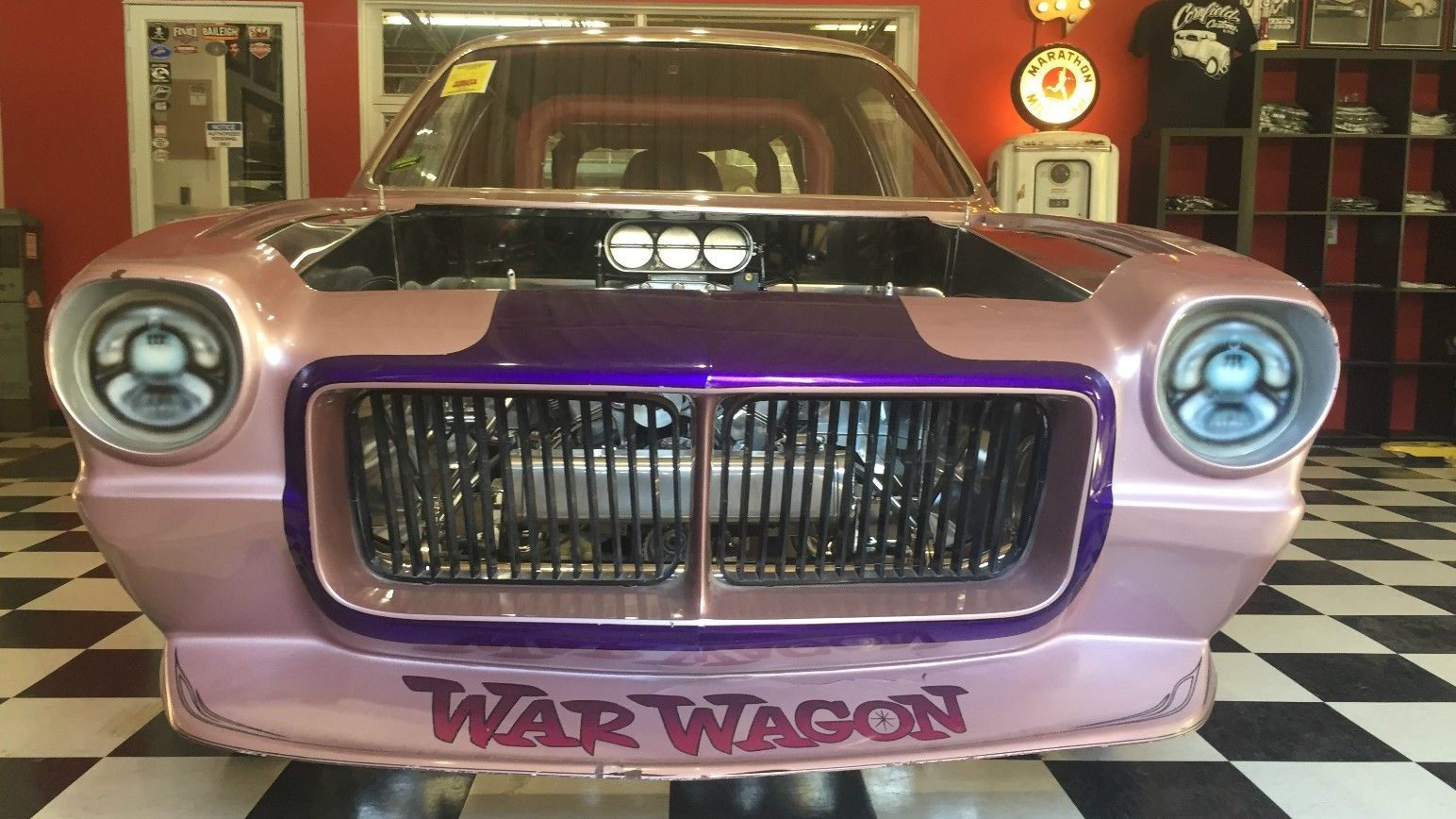Old Chevy Cars >> The War Wagon: Vega Funny Car