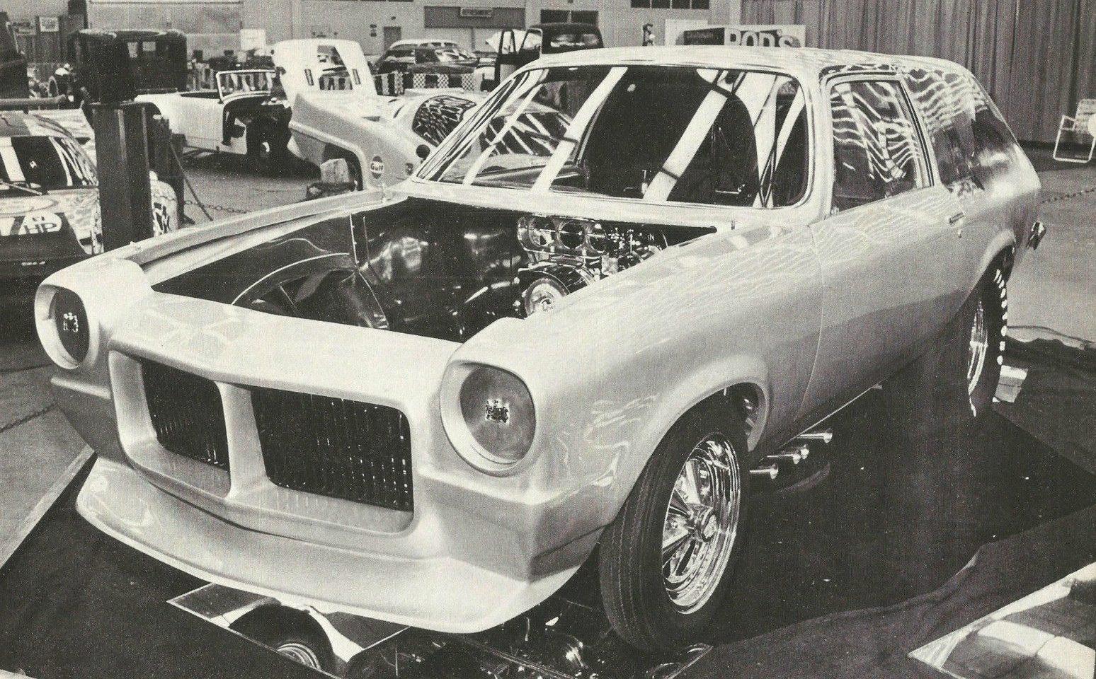The War Wagon: Vega Funny Car