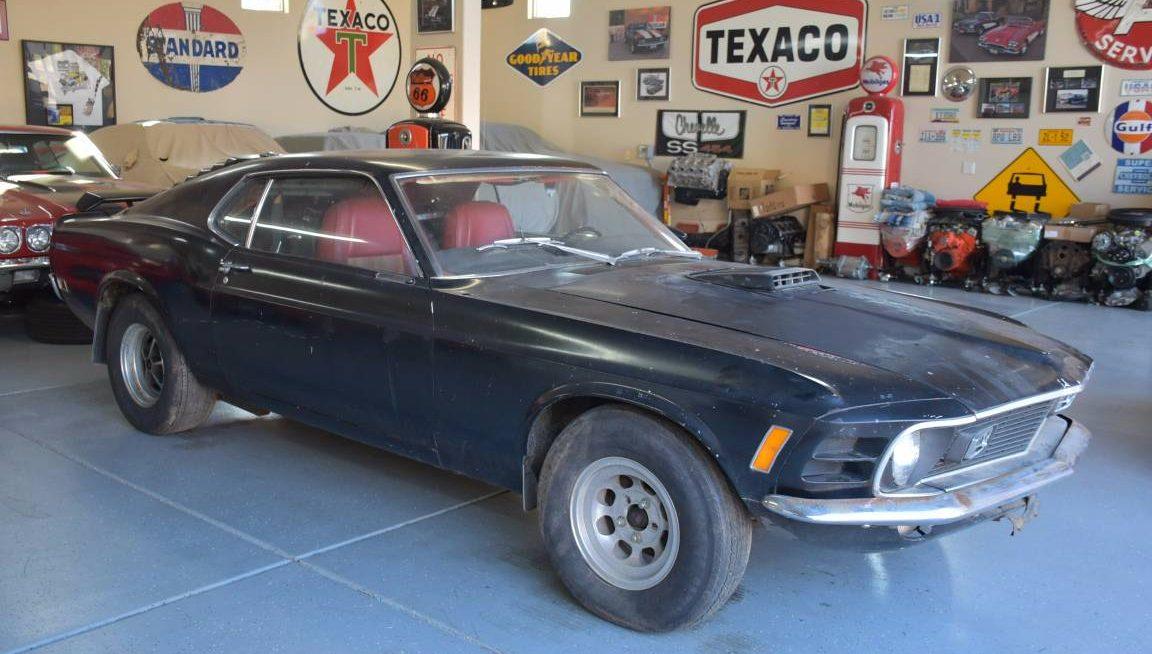 Orange Dream 1970 Ford Mustang Boss 302