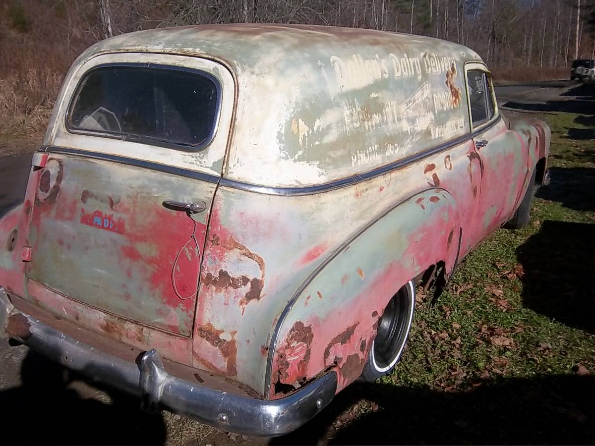 1956 chrysler 300b for sale 1911398 hemmings motor news - I Went On This Little Geographical Side Trip Because The Sedan Delivery For Sale Here Still Shows Its Original Owner S Name Phone Number And Location