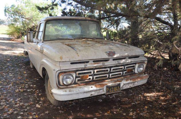 Vet's Truck: 1964 Ford F100